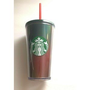 Starbucks 2019 Winter Holidays Holographic Red/Grn